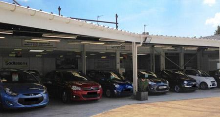 Leasing occasion venez d couvrir notre parc d 39 exposition for Garage renault 94